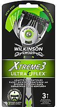 Духи, Парфюмерия, косметика Набор одноразовых станков для бритья - Wilkinson Sword Xtreme 3 UltraFlex