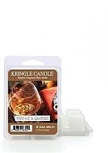 Духи, Парфюмерия, косметика Ароматический воск - Kringle Candle Cognac & Leather Wax Melt