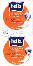 Духи, Парфюмерия, косметика Прокладки Perfecta Ultra Orange, 10+10 шт. - Bella