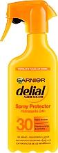 Духи, Парфюмерия, косметика Солнцезащитный увлажняющий спрей - Garnier Delial Ambre Solaire 24h Hydration Spray Protector SPF30