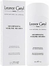 Духи, Парфюмерия, косметика Шампунь для осветленных волос - Leonor Greyl Shampooing Sublime Meches