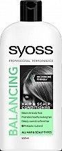 Духи, Парфюмерия, косметика Бальзам для всех типов волос и кожи головы - Syoss Balancing