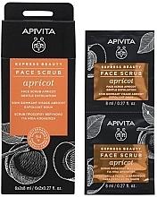Духи, Парфюмерия, косметика Скраб для лица с абрикосом - Apivita Express Beauty Face Scrub Apricot