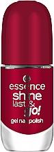 Духи, Парфюмерия, косметика Лак для ногтей с эффектом гель-лака - Essence Shine Last & Go! Gel Nail Polish