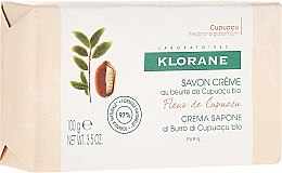 Духи, Парфюмерия, косметика Мыло - Klorane Cupuacu Flower Cream Soap