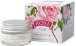 Духи, Парфюмерия, косметика Крем для контура вокруг глаз с Q10 - Bulgarian Rose Rose Q10 Cream Araund Eyes