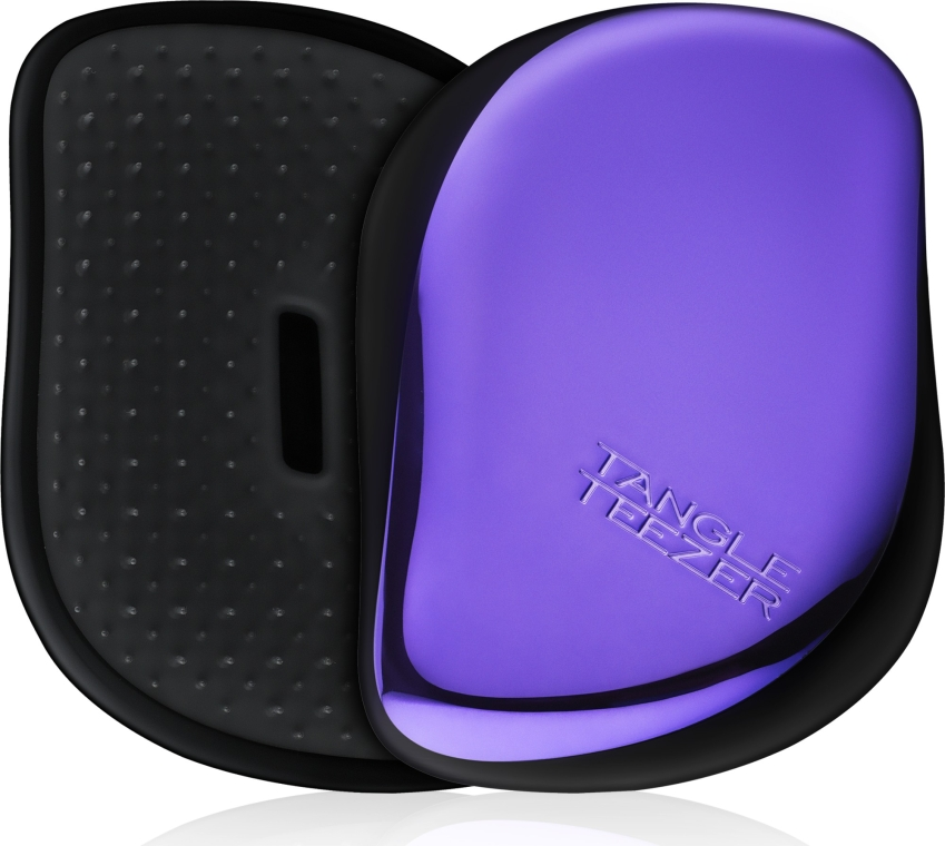 Компактная щетка для волос - Tangle Teezer Compact Styler Purple Dazzle Brush — фото N1