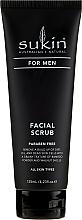 Духи, Парфюмерия, косметика Скраб для лица - Sukin For Men Facial Scrub