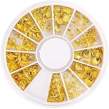 Духи, Парфюмерия, косметика Украшение для ногтей в карусели - Peggy Sage Carousel For Nail Decorations Summer Gold