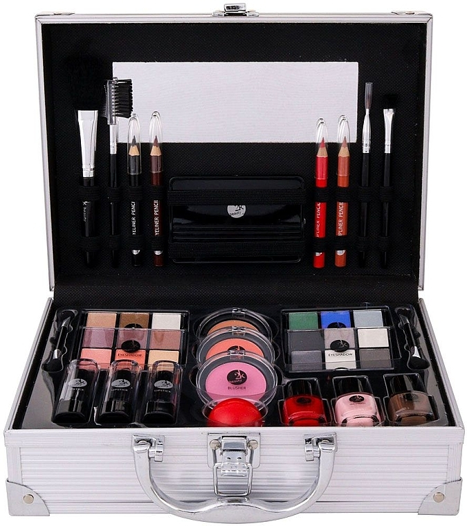 Бьюти-кейс - Cosmetic 2K All About Beauty Train Case — фото N1