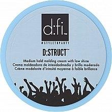 Духи, Парфюмерия, косметика Стайлинг-крем для волос - D:fi D:struct Medium Hold Molding Cream