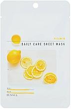 Духи, Парфюмерия, косметика Восстанавливающая маска для лица с витамином B5 - Eunyu Daily Care Sheet Mask Vitamin