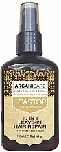 Духи, Парфюмерия, косметика Сыворотка для волос 10 в 1 - Argaincare Castor Oil 10-in-1 Hair Repair