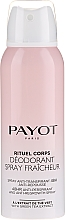 Духи, Парфюмерия, косметика Дезодорант-антиперспирант - Payot Rituel Corps 48H Antiperspirant Alcohol Free