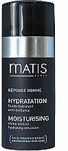 Духи, Парфюмерия, косметика Эмульсия, контролирующая жирный блеск - Matis Reponse Homme Moisturising Shine Control Hydrating Emulsion