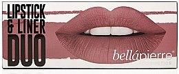 Духи, Парфюмерия, косметика Набор - Bellapierre Lipstick & Liner Duo (lip/liner/1.5 g + lipstick/3.5g) (Antique Pink)