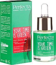 """Духи, Парфюмерия, косметика Бустер для лица """"Матирующий"""" - Perfecta Your Time is Green"""