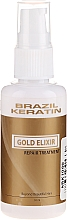 Духи, Парфюмерия, косметика Эликсир для волос - Brazil Keratin Gold Elixir Repair Treatment