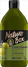 Духи, Парфюмерия, косметика Кондиционер c оливковым маслом для ухода за длинными волосами - Nature Box Conditioner Olive Oil