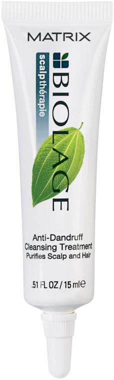 Интенсивно очищающее и смягчающее средство от перхоти - Biolage Scalptherapie Anti-Dandruff Cleansing Treatment — фото N2