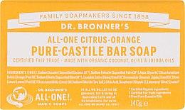 """Духи, Парфюмерия, косметика Мыло """"Цитрус и апельсин"""" - Dr. Bronner's Pure Castile Bar Soap Citrus & Orange"""