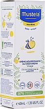 Духи, Парфюмерия, косметика Кольд-крем для лица - Mustela Bebe Nourishing Cream with Cold Cream