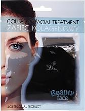Духи, Парфюмерия, косметика Коллагеновая терапия с шоколадом - Beauty Face Collagen Hydrogel Mask