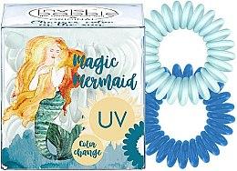 Духи, Парфюмерия, косметика Резинка-браслет для волос, 3шт - Invisibobble Original Ocean Tango