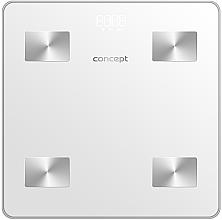 Духи, Парфюмерия, косметика Диагностические весы VO4000, белые - Concept Body Composition Smart Scale