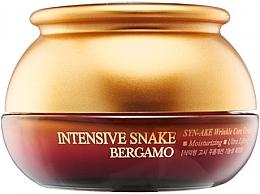 Духи, Парфюмерия, косметика Крем с экстрактом змеиного яда антивозрастной - Bergamo Intensive Snake Wrinkle Care Cream