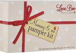 Духи, Парфюмерия, косметика Набор - Love Boo Mummy & Me Pamper Kit (b/lot/50ml + sh/gel/shm/50ml + b/oil/15ml + oil/100ml + b/lot/250ml)