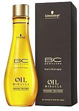 Духи, Парфюмерия, косметика Масло для нормальных и жестких волос - Schwarzkopf Professional Bonacure BC