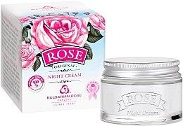Духи, Парфюмерия, косметика Ночной крем для лица - Bulgarian Rose Rose Night Cream