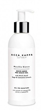 Гель для бритья - Acca Kappa White Moss Pre-Shave Gel — фото N1