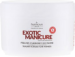Духи, Парфюмерия, косметика Сахарный пилинг для рук - Farmona Egzotic Manicure Scrub