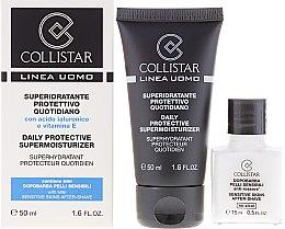 Духи, Парфюмерия, косметика Набор - Collistar Daily Protective Supermoisturizer (cr/50ml + cr/15ml)