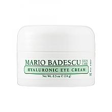 Духи, Парфюмерия, косметика Гиалуроновый крем для области вокруг глаз - Mario Badescu Hyaluronic Eye Cream