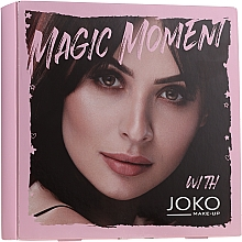 Духи, Парфюмерия, косметика Набор - Joko Makeup Magic Moment (eye/shadow/7g + n/polish/10ml + mascara/9ml)