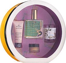 Духи, Парфюмерия, косметика Набор - Nuxe Culte Prodigieux Box (oil/100ml + h/cr/30ml + lip/balm/15ml + candle)