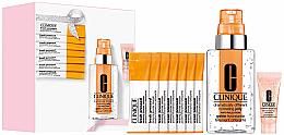 Духи, Парфюмерия, косметика Набор - Clinique Supercharged Skin Your Way (f/gel/115ml + f/conc/10ml + cl/powder/0.5gx7 + eye/conc/5ml)