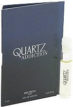 Духи, Парфюмерия, косметика Molyneux Quartz Addiction - Парфюмированная вода (пробник)