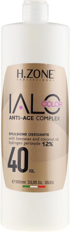 Окисляющая эмульсия 40vol 12% - H.Zone Ialo Oxy — фото N1