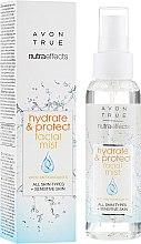 Духи, Парфюмерия, косметика Мист для лица - Avon True Nutra Effect Hydrate & Protect Facial Mist