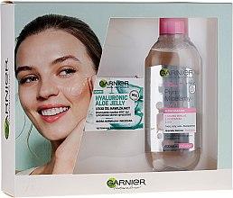 Духи, Парфюмерия, косметика Набор - Garnier Skin Naturals (gel/50ml + micellar/400ml)