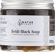 Духи, Парфюмерия, косметика Черное марокканское мыло-бельди - Natur Planet Moroccan Beldi Black Soap
