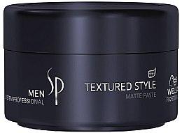 Духи, Парфюмерия, косметика Матирующая паста для волос - Wella SP Men Textured Style Paste