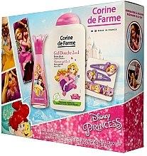 Духи, Парфюмерия, косметика Corine de Farme Princess - Набор (edt/30ml +sh/gel/250ml + accessories)