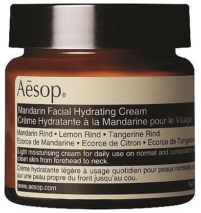 Увлажняющий крем для лица с мандарином - Aesop Mandarin Facial Hydrating Cream — фото N1