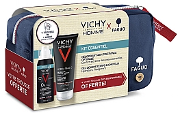 Духи, Парфюмерия, косметика Набор - Vichy Homme (sh/gel/200ml + deo/100ml + bag)