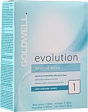 Духи, Парфюмерия, косметика Набор для завивки химически обработанных или тонких волос - Goldwell Evolution Neutral Wave 1 New